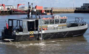 Shallow Draft Survey Vessels