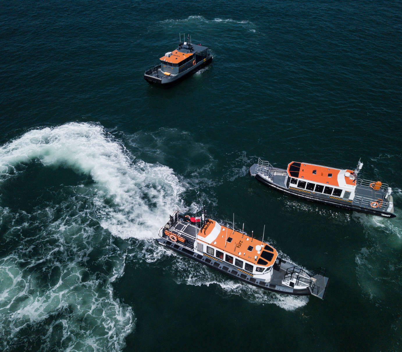 Commercial Rib Charter, Work Boat Services, Safety & Rescue