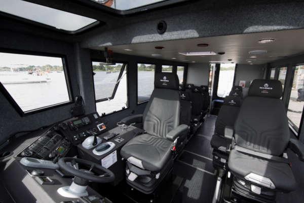 Inside vessel