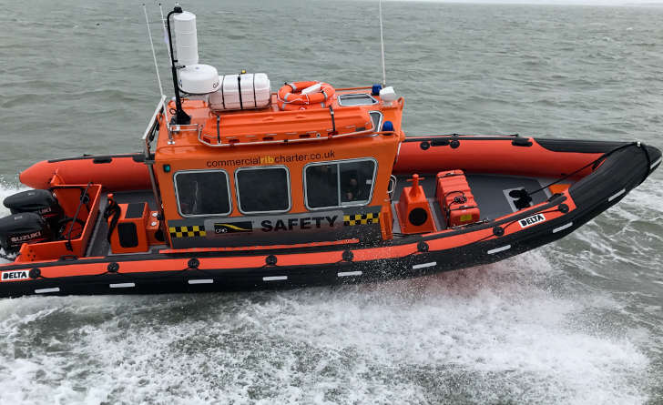 Safety Boat 'CRC Comet'