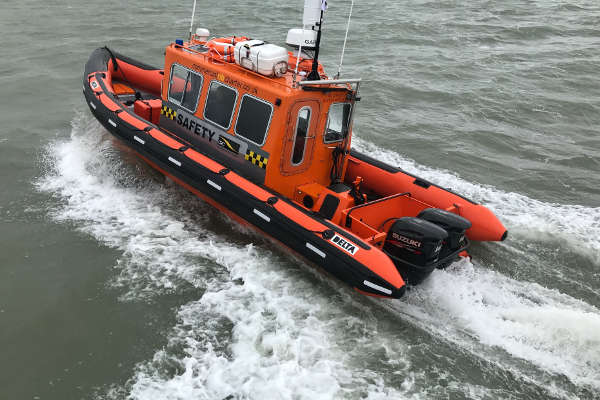 new Safety Boat 'CRC Comet'