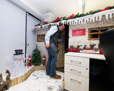 A Christmas Grotto Surprise!