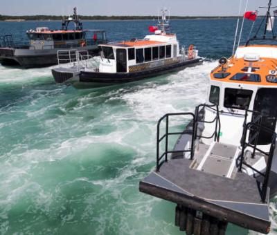 Crew transfer vessels