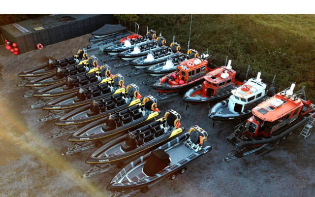 Commercial Rib Charter Fleet
